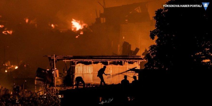 Bangladeş'te yangın: Binlerce kişi evsiz kaldı