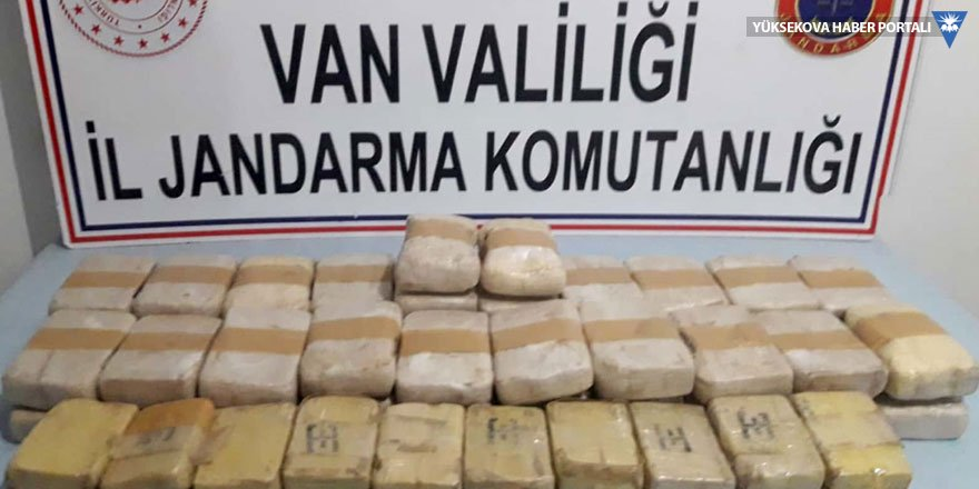 Van'da 30 kilogram eroin ele geçirildi