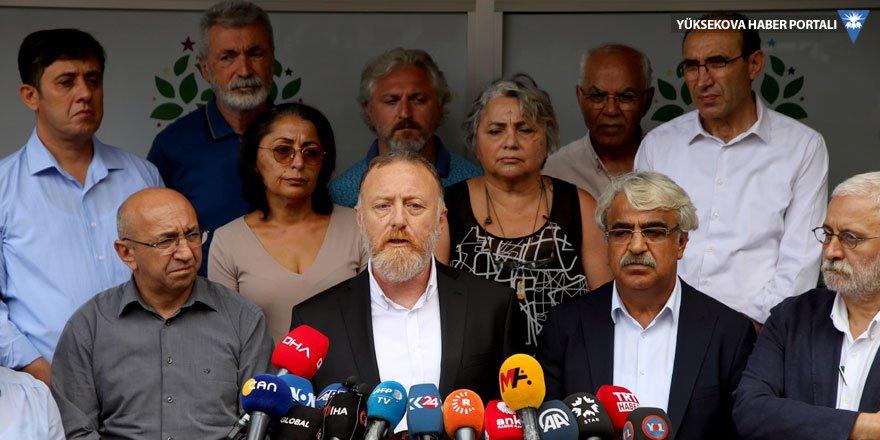 HDP Eş Genel Başkanı Sezai Temelli: 19 Ağustos sivil darbedir, yan yana duralım