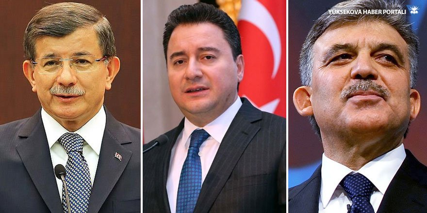 AK Parti Gül, Davutoğlu ve Babacan'ı davet etmedi
