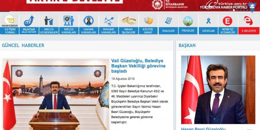 Kayyım, belediyenin internet sitesinden Mızraklı'yı sildi