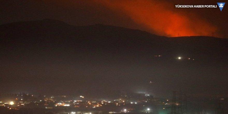 İsrail İran'a Şam'da saldırdı, Lübnan'da İHA'lar düştü