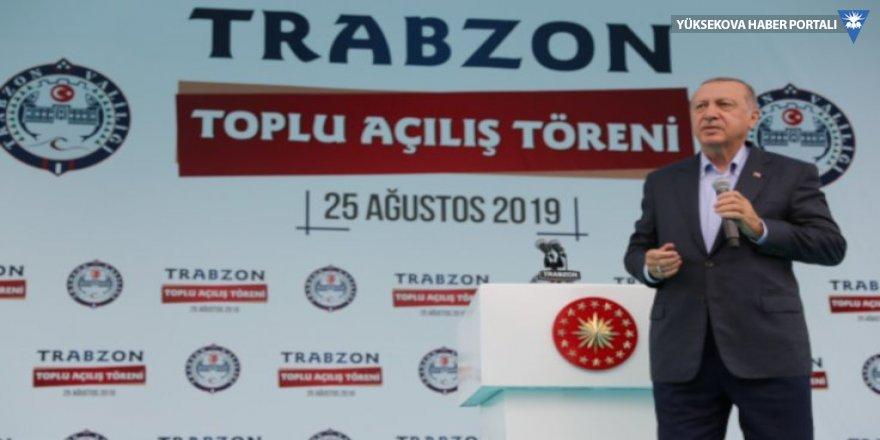 Erdoğan HDP'yi işaret edip 'Sandıkta dersi verelim' dedi