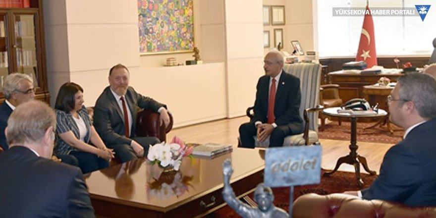 HDP heyeti Kılıçdaroğlu'yla görüştü