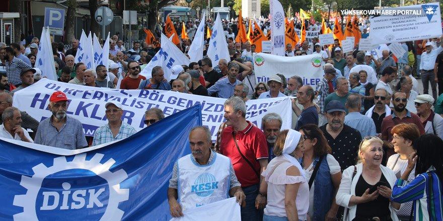 Ankara'da barış mitingi: Kayyımlar gidecek