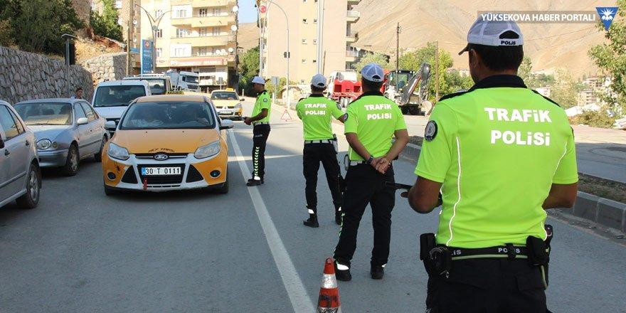 Hakkari'de taksimetre denetimi