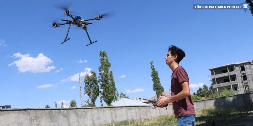 Hurdadan drone yapan Yüksekovalı Bedran, TEKNOFEST'e katılıyor