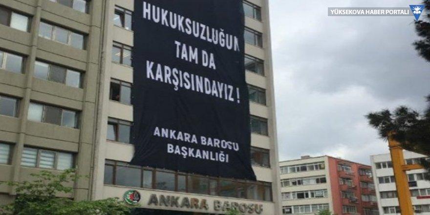 Ankara Barosu da olağanüstü genel kurulu tartışıyor