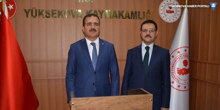 Vali Akbıyık'ın Yüksekova temasları