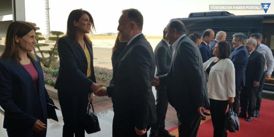 HDP ve DTK heyeti Erbil'de