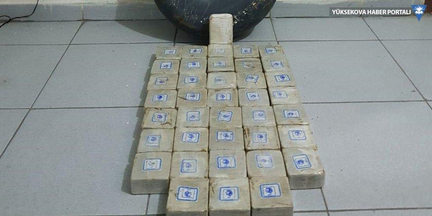 Başkale'de 20 kilo 454 gram eroin yakalandı