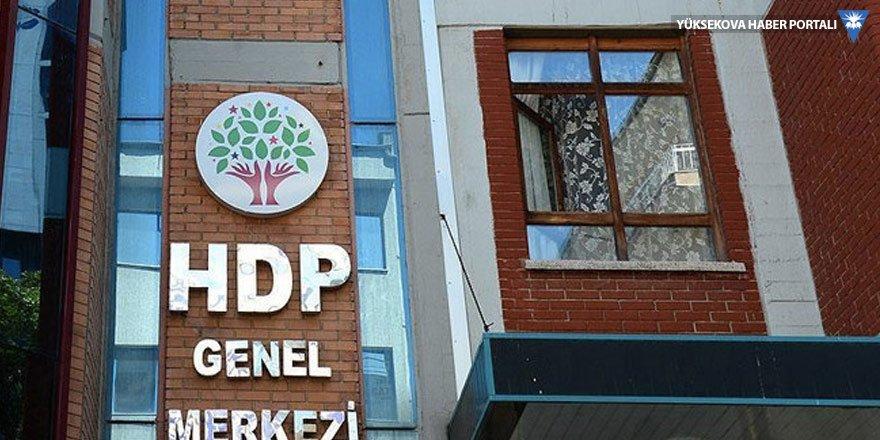 HDP'den Diyarbakır'daki eş başkanların gözaltına alınmasına tepki