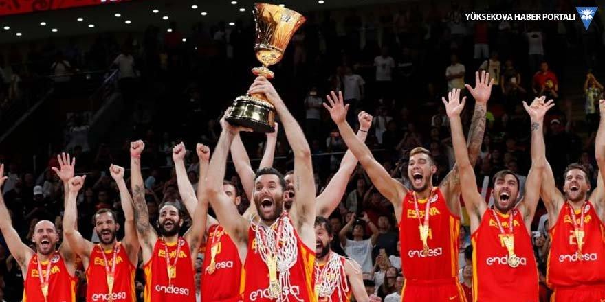 Basketbolda İspanya dünya şampiyonu