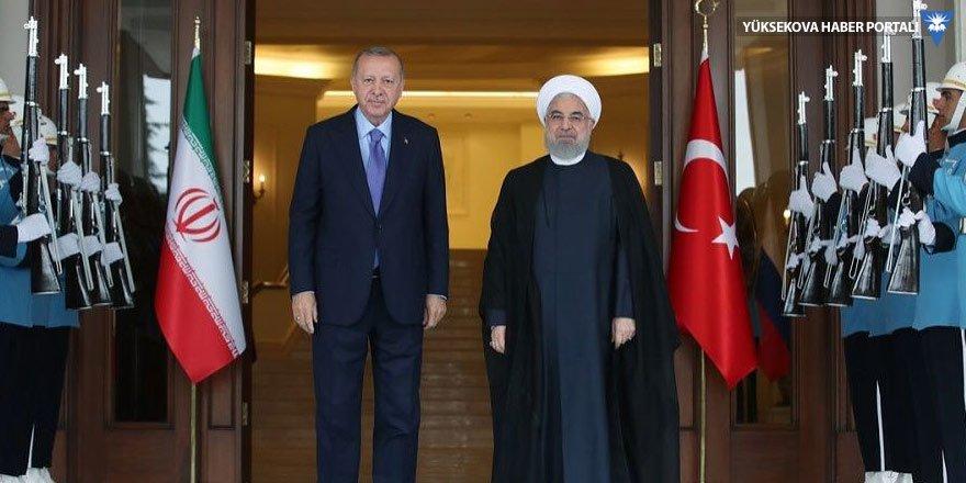 İran Cumhurbaşkanı Ruhani Çankaya Köşkü'nde