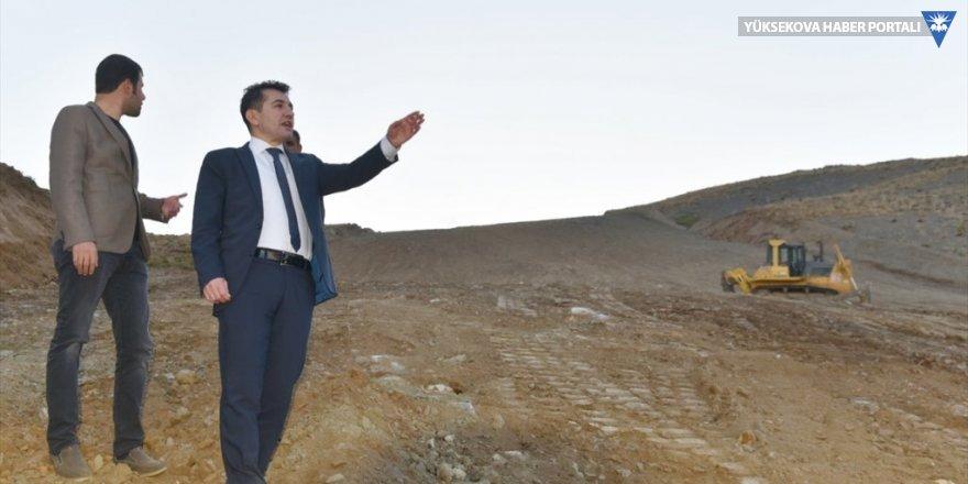 Hakkari: Genel Sekreter Duruk, kayak merkezindeki çalışmaları inceledi