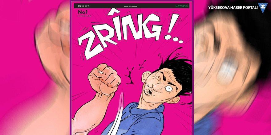 Kürtçe çizgi dergisi 'Zrîng' çıkıyor