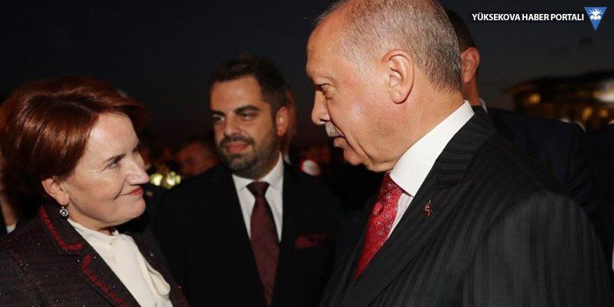 Akşener: AK Parti ile herhangi bir mesaj alışverişimiz yok