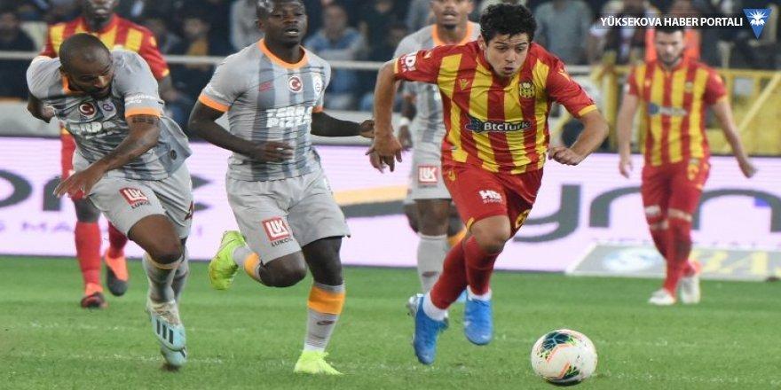 Galatasaray 89'da yedi, maç 1-1 bitti