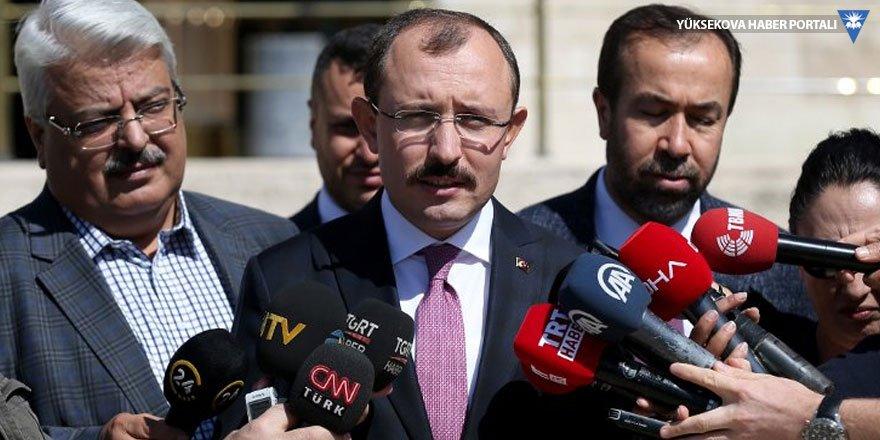 AK Partili Muş: Hükümet ve bakan arasında problem yok