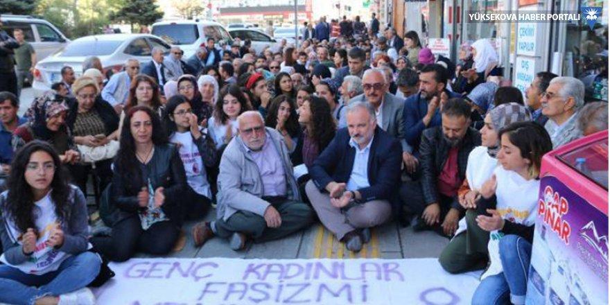 Kayyım protestoları 36'ıncı gününde: Gasp edilen belediyemizi onlara bırakmayacağız