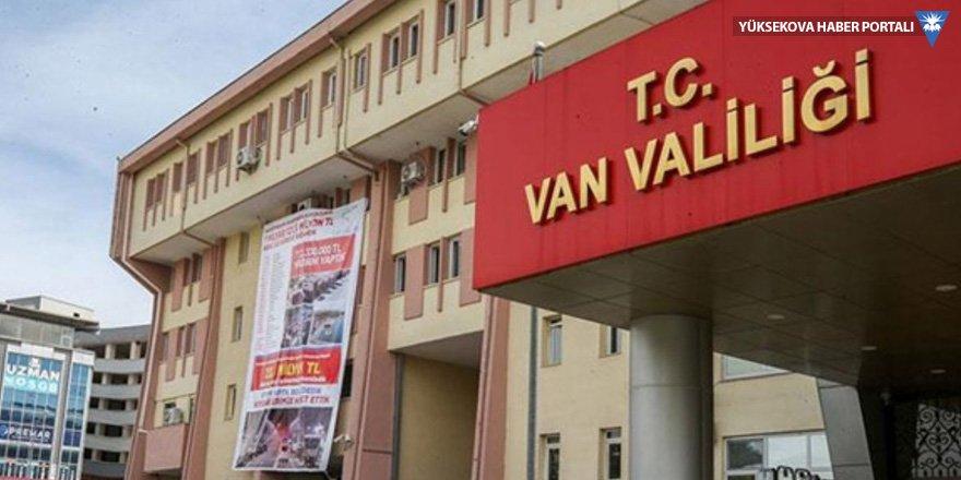 Van'da 15 günlük eylem yasağı