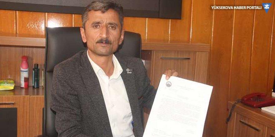Hakkari Belediyesi'den Muhtar Aydın'a cevap