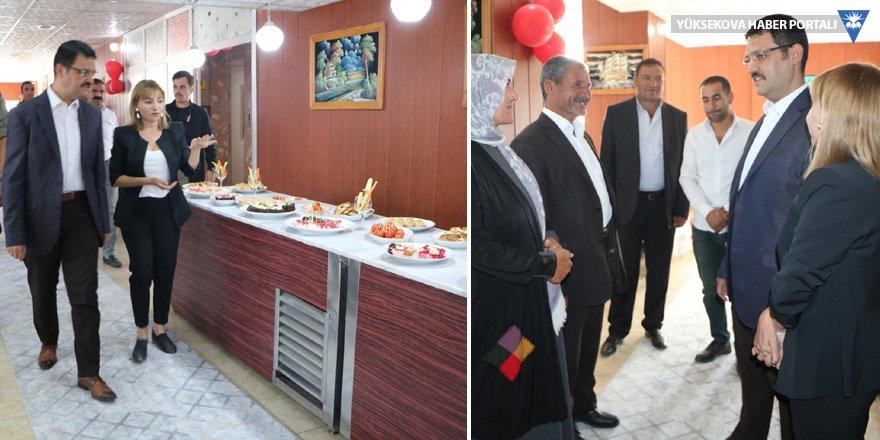Yüksekova Öğretmenevi'nin restaurantı yenilendi