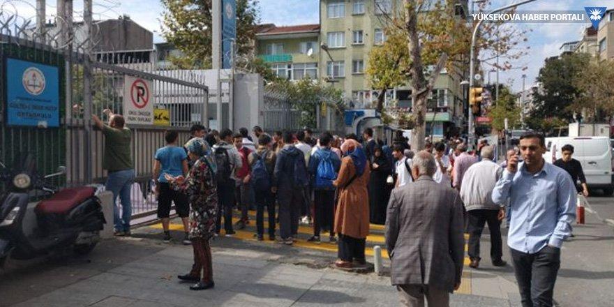 İstanbul Valiliği: Herhangi bir hasar ihbarı yok
