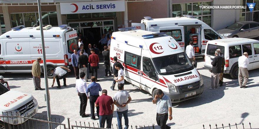 Derecik'te kaza: 2 ölü, 5 yaralı