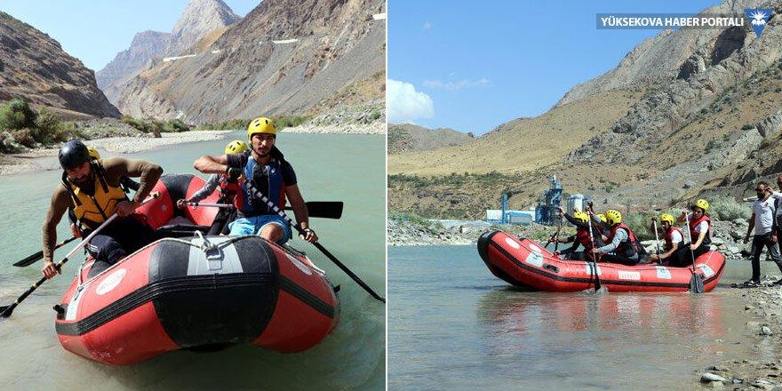 Zap vadisi'nde 'rafting spor merkezi' açılacak