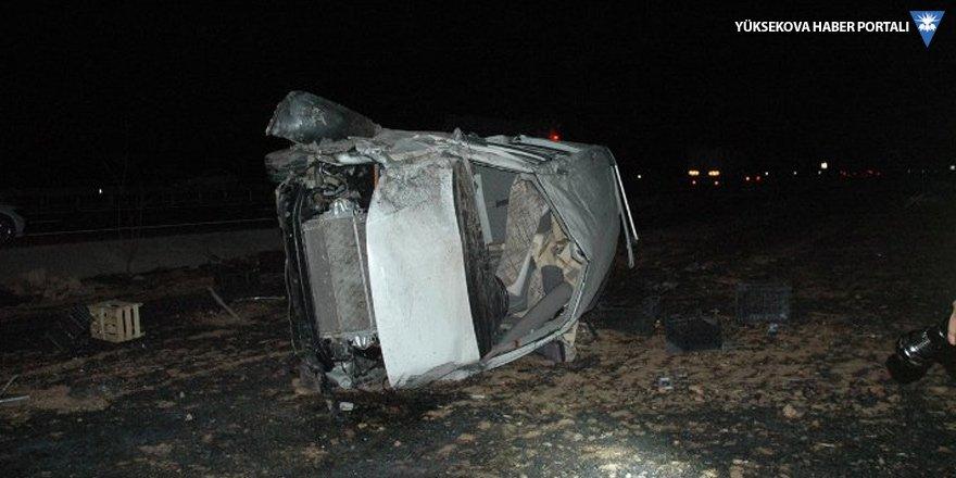 Çınar'da trafik kazası: 2 ölü