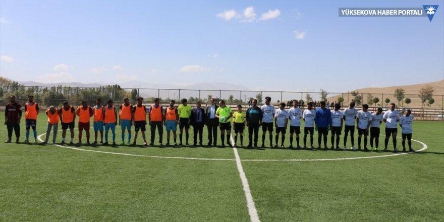 Gürpınar'da mahalleler arası futbol turnuvası