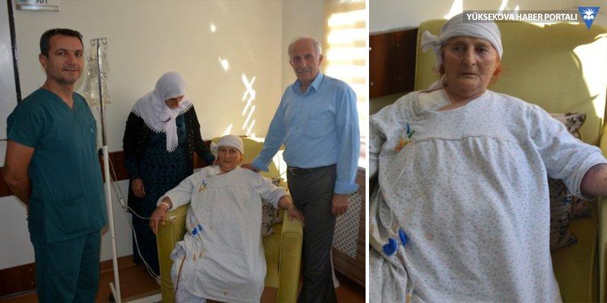 88 yaşındaki Şemdinlili hasta, ameliyatla sağlığına kavuştu