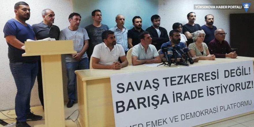 Amed Emek ve Demokrasi Platformu: Rojava tehdit değildir