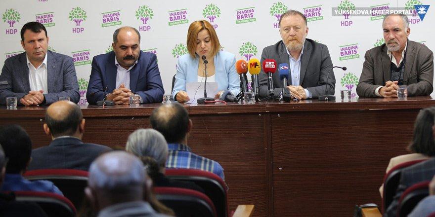 HDK, DTK,HDP, DBP'den ortak çağrı: Ölüm iradesine karşı yaşamı savunalım