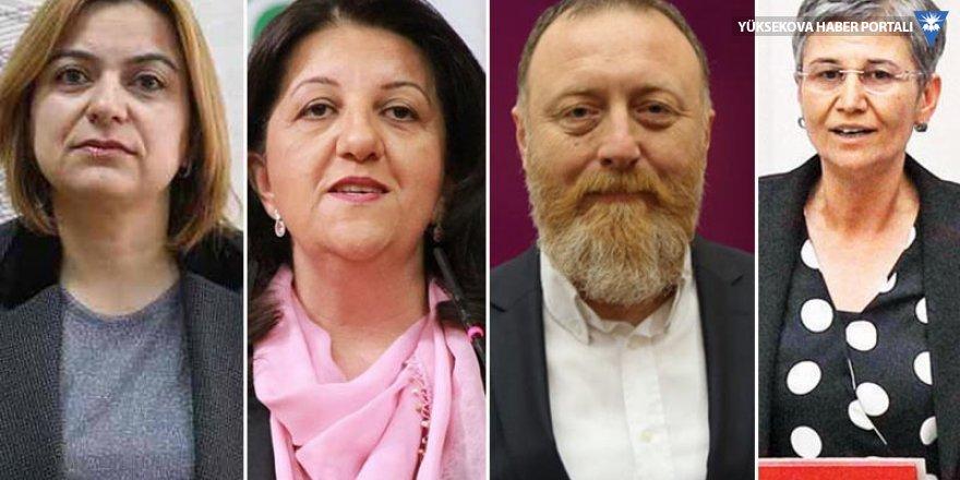 HDP eş genel başkanları ve 2 vekiline soruşturması
