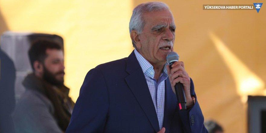 Ahmet Türk'e 'Newroz' soruşturması