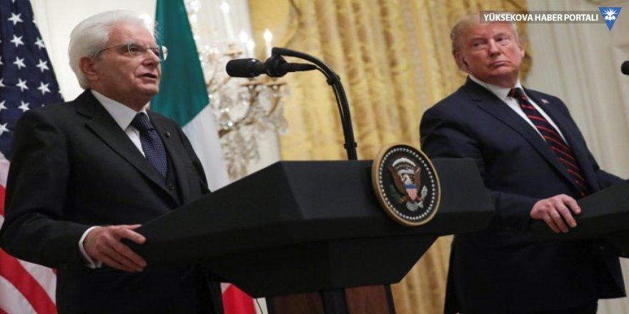 Trump'tan gaf üstüne gaf: İtalya Cumhurbaşkanı'na 'Mozzarella' dedi, ABD-İtalya ilişkilerini Antik Roma'ya dayandırdı