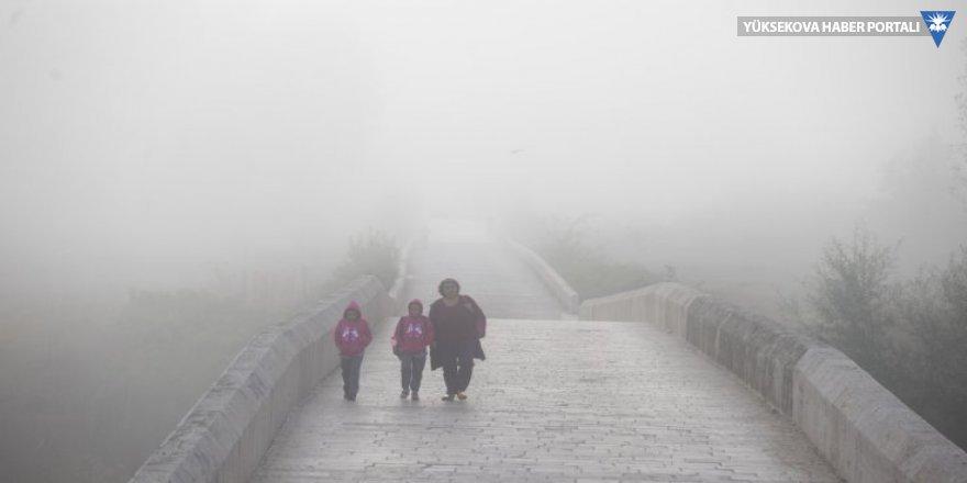 İstanbul sis altında kaldı