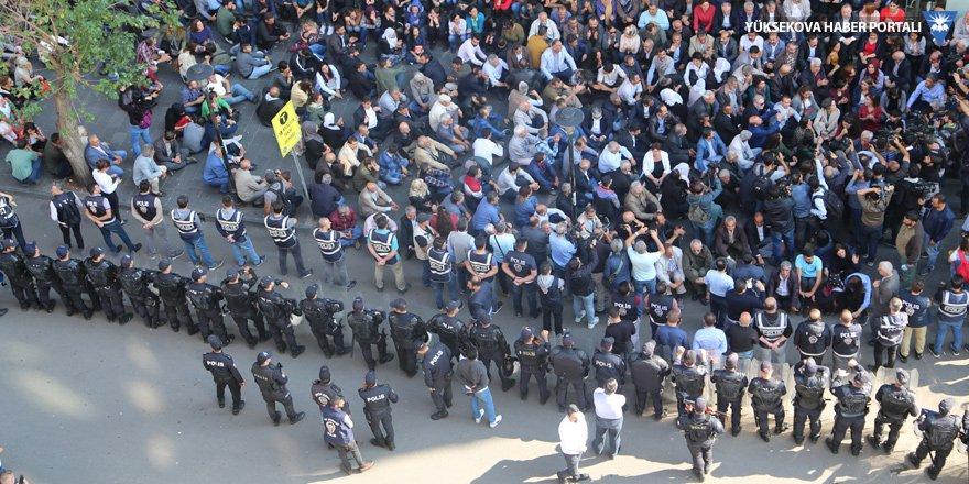 Diyarbakır'da kayyım protestosu