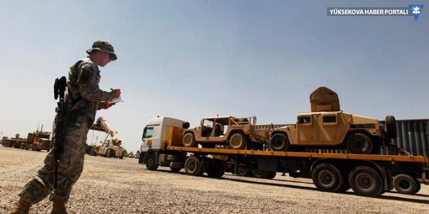 Irak: Suriye'den gelen ABD'li askerler dört hafta içerisinde ülkeden ayrılacak