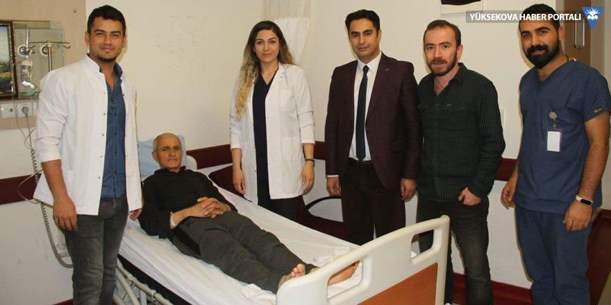 Şemdinli'de ilk defa gözyaşı kanal tıkanıklığı ameliyatı yapıldı