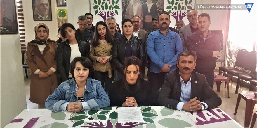 Hakkari Belediyesi Meclisi: Eşbaşkanın tutuklanması hukuki değil siyasi