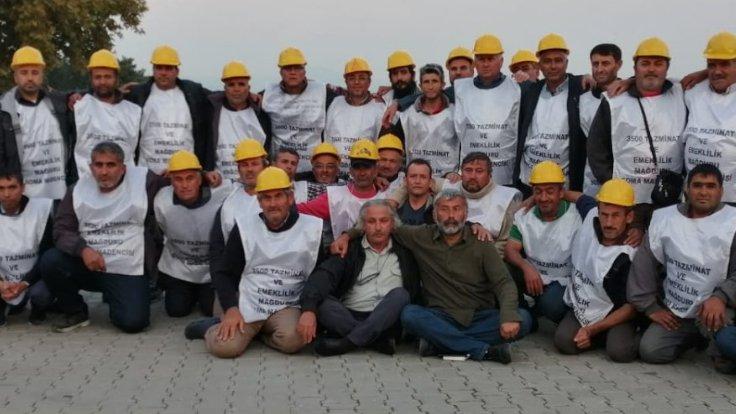 Maden işçileri mücadeleyi kazandı
