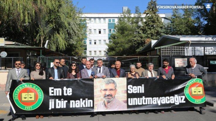 Diyarbakır Barosu Tahir Elçi'nin faillerini sordu