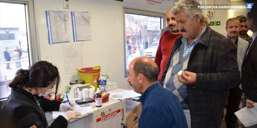 Hakkari'de kan bağış kampanyası
