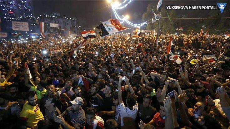 İran galibiyeti Iraklıları sokağa döktü