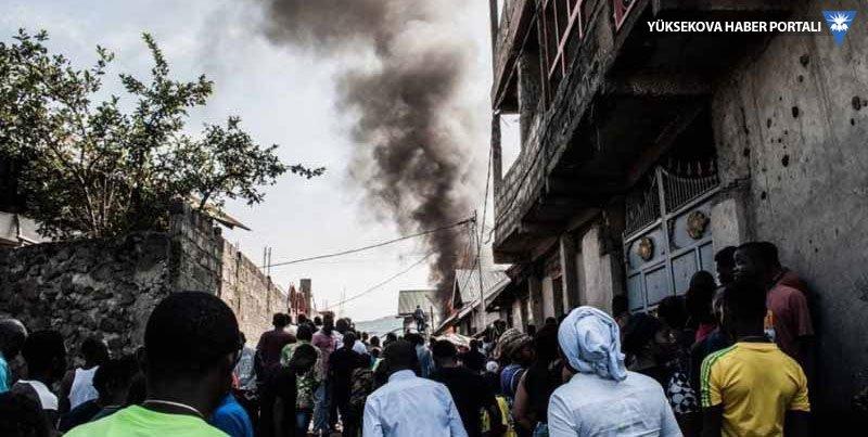Kongo'da uçak yerleşim birimine düştü: 24 ölü