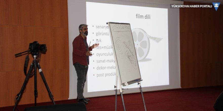 Hakkari'deki sinema atölyesinde eğitime başlandı
