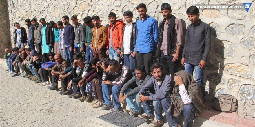 Van'da 39 göçmen yakalandı